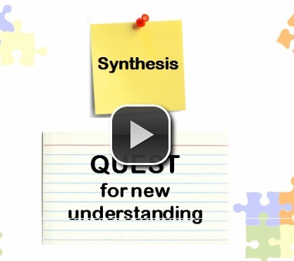 Synthesis: Quest for New Understanding | CCSS News Curated by Core2Class | Scoop.it
