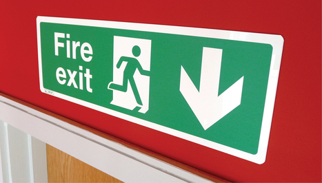 Fire Exit Signs and their meanings Tutorial | Safety Signs | Scoop.it