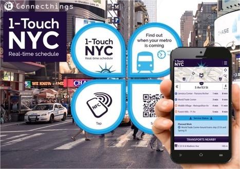 Connecthings remporte le contrat des 10.000 arrêts de transport NFC des Bouches-du-Rhône | RFID & NFC FOR AIRLINES (AIR FRANCE-KLM) | Scoop.it