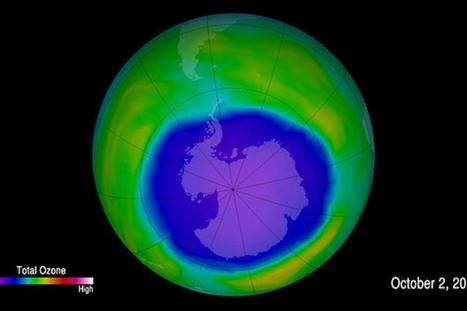 "UN weather body: Antarctic ozone hole expands due to cold (""danger remains even as ozone recovers"") 
