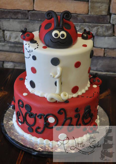 1st Birthday Ladybug Cake | Custom Cakes for You | Scoop.it