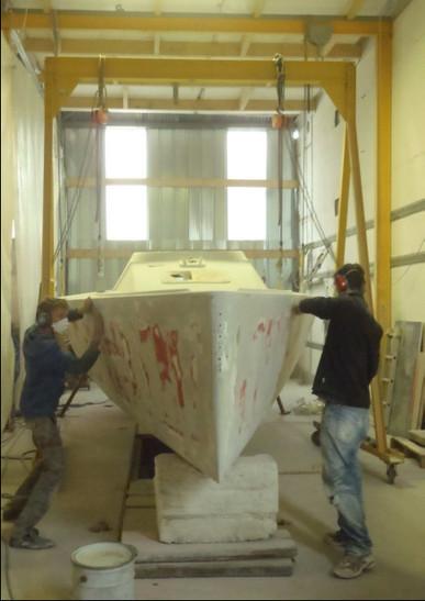 26 octobre 2012 - dernières infos du chantier | Fan-Fan 8, un proto IRC Viant - renaissance, régates, techniques | Scoop.it