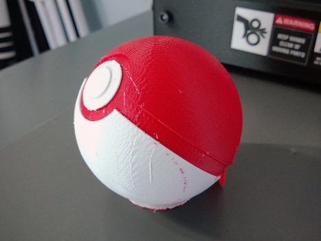 Pokeball by Durosoft - Thingiverse | Killer Design | Scoop.it