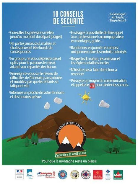 Accidents de randonnée : série noire dans les Pyrénées | Revue de Web par ClC | Scoop.it