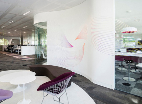 8 exemples de bureaux insolites et originaux - blog-emploi.com | Innovation, créativité et bien-être au travail | Scoop.it