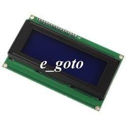 IC/I2C/TWI 2004 204 20X4 LCD display module Blue Screen for Arduino Raspberry pi | Raspberry Pi | Scoop.it
