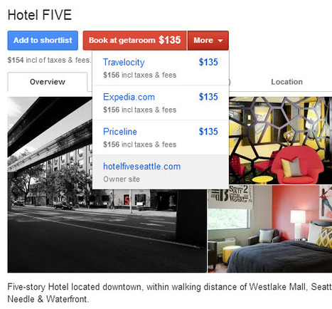 A Guide to Google Hotel Finder | digital hospitality | Scoop.it