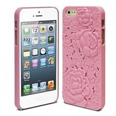 3D Rose Style Rubberized Hard Back Case for Apple iPhone 5 (IPHC-564-2MX) - Wholesale Electronics from Tradestead.com | new tech katie edwards | Scoop.it