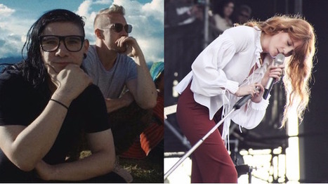 Diplo and Skrillex Tease Florence Welch Collaboration | Music Extravaganza | Scoop.it