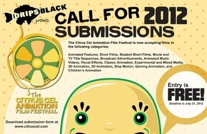The Citrus Cel Animation Film Festival Now Accepting Entries | Wolf and Dulci Links | Scoop.it