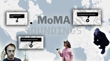 Your MoMA Field Recording Portal Is Now Open - ANIMAL   DESARTSONNANTS - CRÉATION SONORE ET ENVIRONNEMENT - ENVIRONMENTAL SOUND ART - PAYSAGES ET ECOLOGIE SONORE   Scoop.it