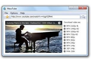 Télécharger MassTube | Au fil du Web | Scoop.it
