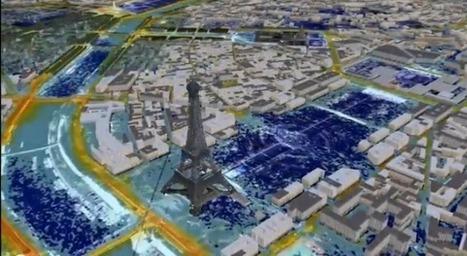 AirCity: un simulateur 3D pour calculer la pollution à Paris - Techno-science.net | Vous ne supportez plus la pollution?! ...Regardez cela... Voici la compile Air Chargé! | Scoop.it