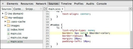Working with CSS Preprocessors - Chrome DevTools — Google Developers | Chrome DevTools | Scoop.it