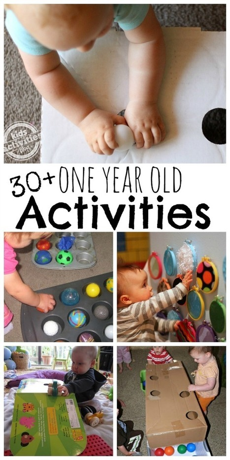 30+ {Busy} 1 Year Old Activities - Kids Activities Blog | A Birthday 2 Remember | Scoop.it
