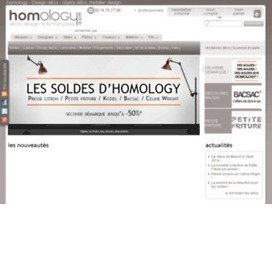 Liste des codes de réduction pour Homology, bon et code Homology. Promotion sur | codes promo | Scoop.it
