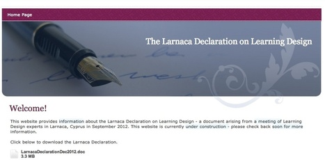 e4innovation.com » Blog Archive » What is Learning Design? @Gconole | Initiate! What is learning design? | Scoop.it