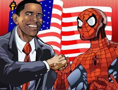 Obama and Spiderman | Agame | Scoop.it