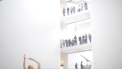 Artist Plants a Digital Dance Intervention at MoMA | Music, Theatre, and Dance | Scoop.it