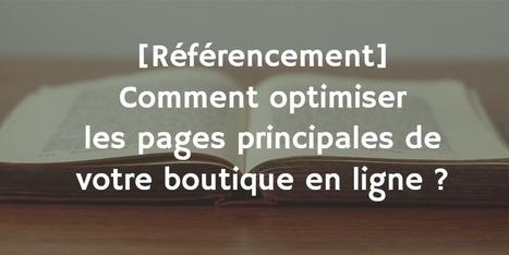 Comment optimiser les principales pages de votre boutique ?   Veille SEO - Référencement web - Sémantique   Scoop.it