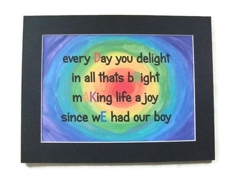 PDF, Customised Digital Download for a Boy, Kids Personalised Rainbow Art.Drake. Typography, Instant Download, Nursery Art, Child, Baby, | Comunicación digital | Scoop.it