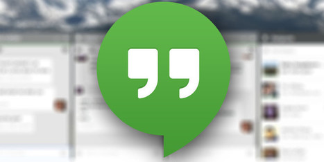 Hangouts Extension For Chrome Brings Conversations To Your Desktop | teaching with technology | Scoop.it