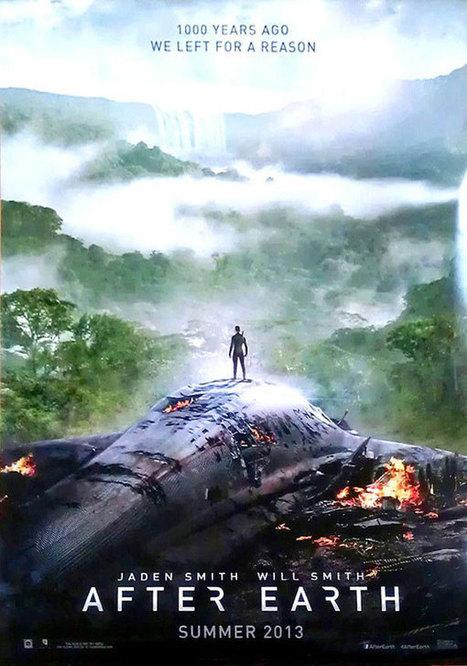 Depois da Terra: Mais um pôster da ficção científica com Will Smith e Jaden Smith - Cinema10   Paraliteraturas + Pessoa, Borges e Lovecraft   Scoop.it