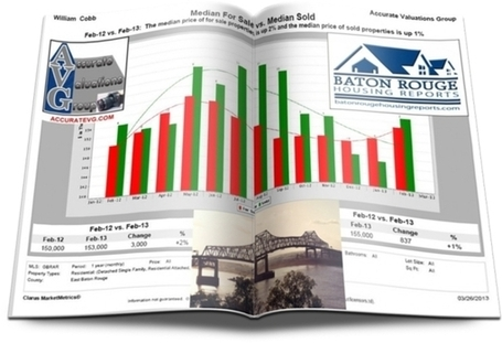 Strong Increases For Prairieville, Gonzales, Geismar Home Sales April 2012 versus April 2013 | Baton Rouge Real Estate News | Scoop.it
