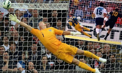 Joe Hart will take inspiration from Seaman's Euro 96 penalty save | World Cup | Scoop.it