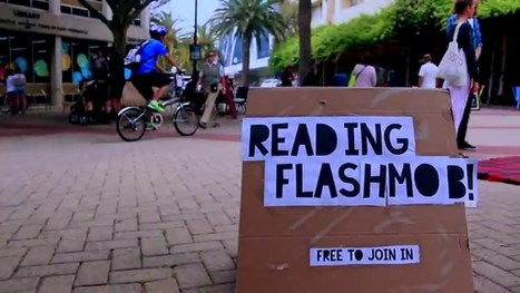 Book Reading Flashmob Video | Library-related | Scoop.it