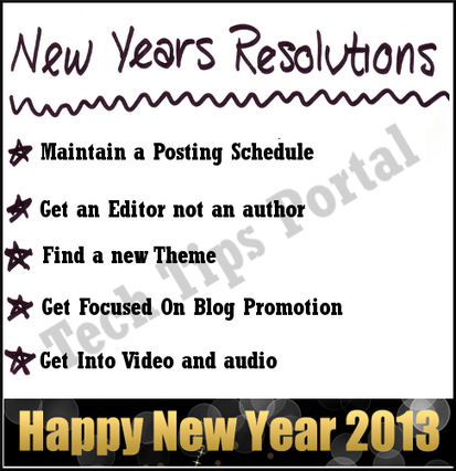 Five 2013 New Year's Resolutions For Bloggers | Ninja Blogging Tips | Scoop.it