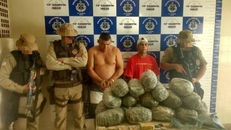 Suspeitos de tráfico de drogas tentam subornar polícia e acabam atrás das grades. | Lucas Souza Publicidade | Scoop.it