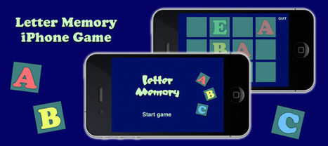 Letter Memory Game | Xcode | CocoaTouch | Objective-C | ChupaMobile | Hello | Scoop.it