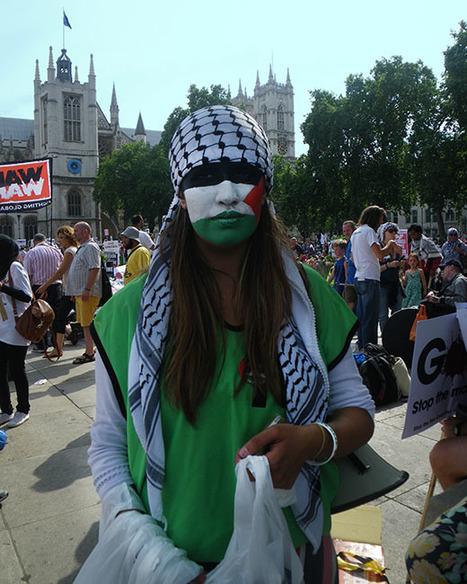 Palestinian Flag Face Paint   kombizz   Scoop.it