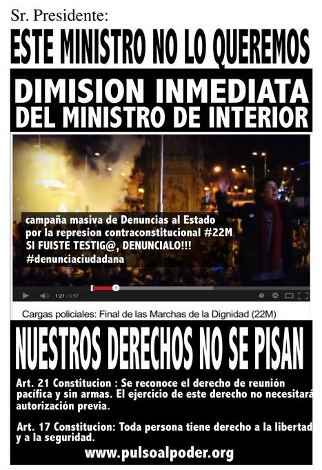 SABADO 29M CONVOCATORIA ESTATAL – JORNADA DE CONTINUIDAD #22M#SIGUE | Movimiento 15M España | Scoop.it