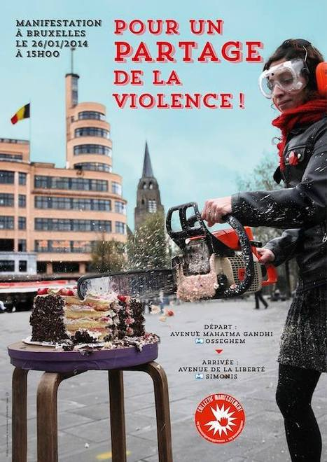 « Pour un PARTAGE de la violence ! » #begov #be2014 | Occupy Belgium | Scoop.it