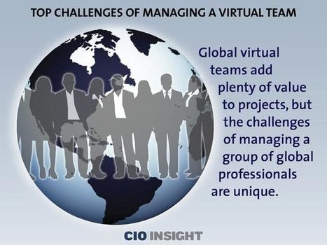 Top Challenges of Managing a Virtual Team | Leadership and communication in virtual teams | Scoop.it