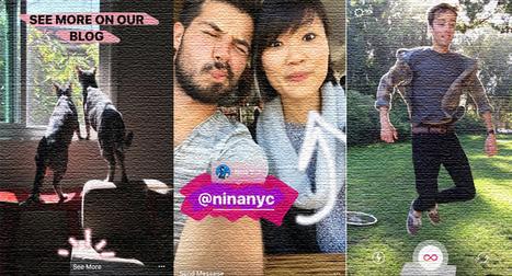 New in Instagram Stories: Boomerang, Mentions & Links - Search Engine Journal | Adam's stuff | Scoop.it