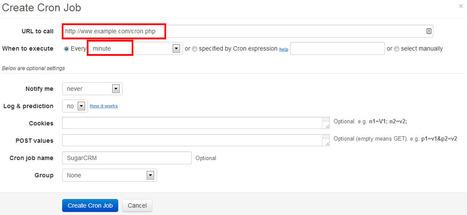 How to set up cron job for SugarCRM   SugarCRM Development   Scoop.it