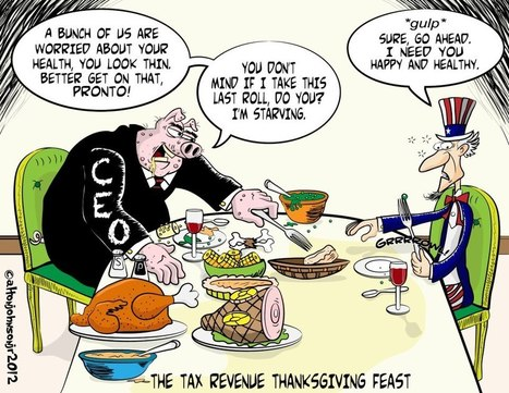 The Tax Revenue Thanksgiving Feast | Coffee Party Originals | Scoop.it