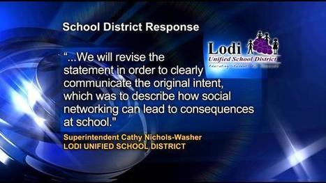 Lodi High Students Score Victory Against District Social-MediaPolicy - CBS Sacramento | Digital Youth | Scoop.it