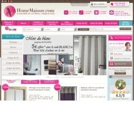 Une promo HomeMaison valide en février 2014. Achetez moins cher chez | codes promo | Scoop.it
