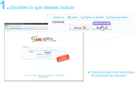 Buscador visual :Simploos Visual Search Engine | gold | Scoop.it