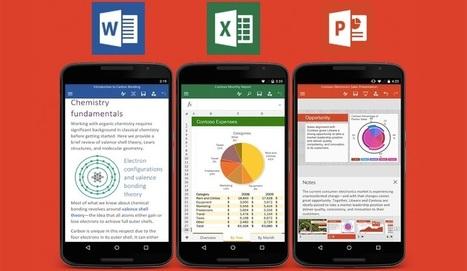 Descarga ya las apps de Microsoft Office en tu Android - Engadget en español | El rincón de mferna | Scoop.it