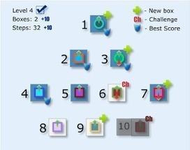 LogicBox: Ένα puzzle-game για την εκμάθηση προγραμματιστικών εννοιών | iEduc | Scoop.it