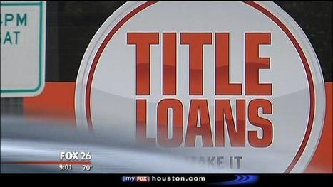 The battle to regulate pay day loans - MyFox Houston | Real Talk about Payday Loans | Scoop.it