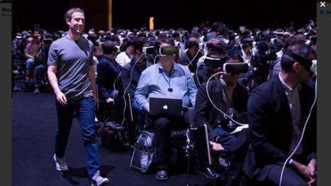Une photo de Mark Zuckerberg enflamme les réseaux sociaux   www.directmatin.fr   Post-Sapiens, les êtres technologiques   Scoop.it