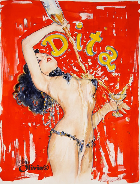 Juxtapoz Magazine - Dita Von Teese by Olivia De Berardinis | Erotica | Erotic Comics | Scoop.it