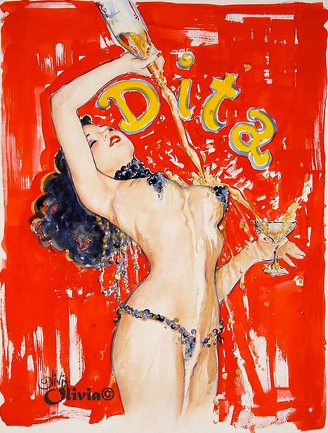 Juxtapoz Magazine - Dita Von Teese by Olivia De Berardinis | Erotica | Erotic Comics | Scoop.it
