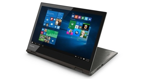 Toshiba launches 12.5-inch laptop/tablet hybrid with a 4K screen   Information Technology & Social Media News   Scoop.it